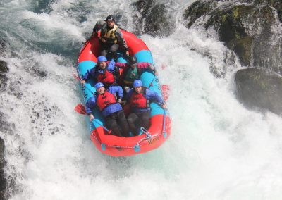 Rafting Husum Falls on the White Salmon River