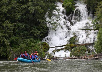 Klickitat River Whitewater Rafting at Wonder Falls
