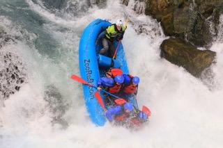 Husum falls rafting