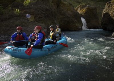 Rafting the lower gorge whitewater washington.