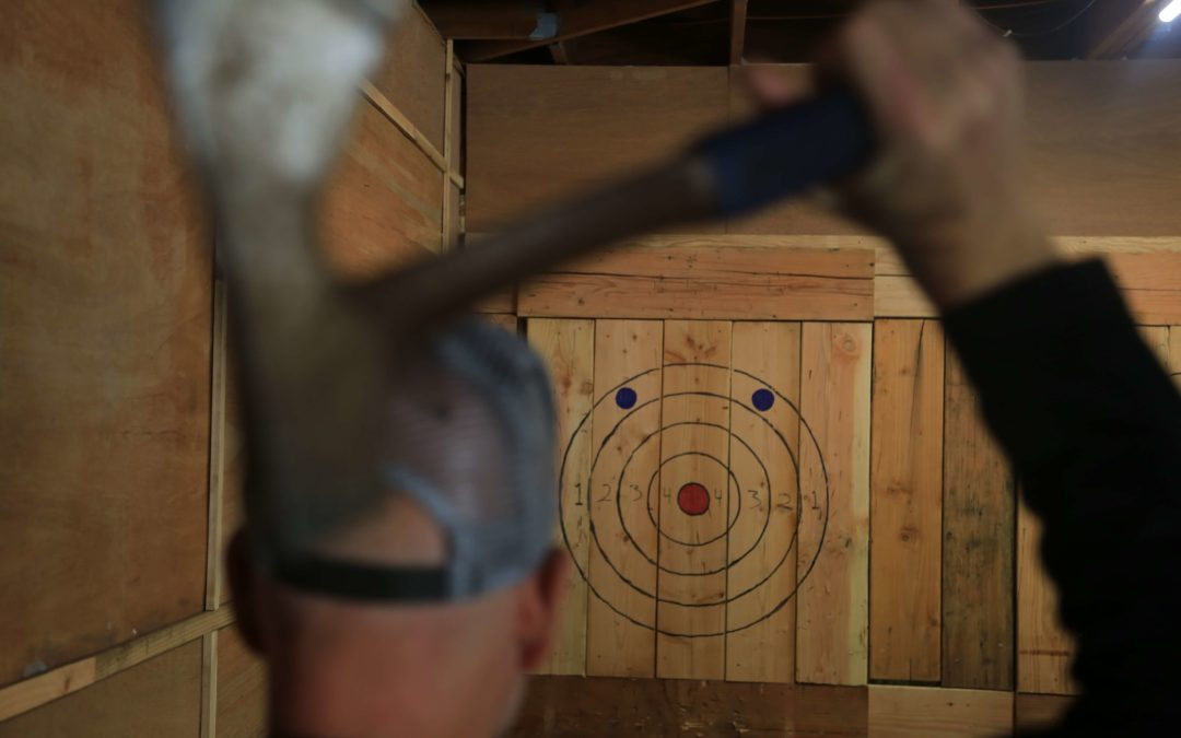 Columbia River Gorge Axe throwing